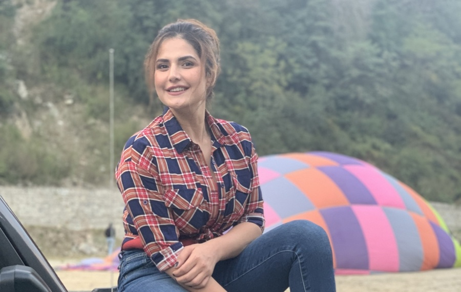 """Actress Zareen Khan will be making her debut on TV with the travel show """"Jeep Bollywood Trails"""". by ."""