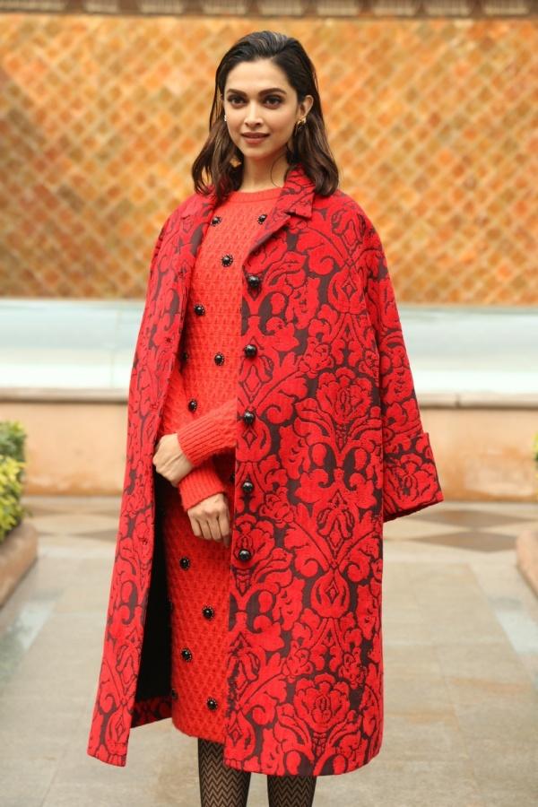 New Delhi: Actress Deepika Padukone during the promotion of upcoming film 'Chhapaak' in New Delhi on Jan 7, 2020. (Photo: Amlan Paliwal/IANS) by .