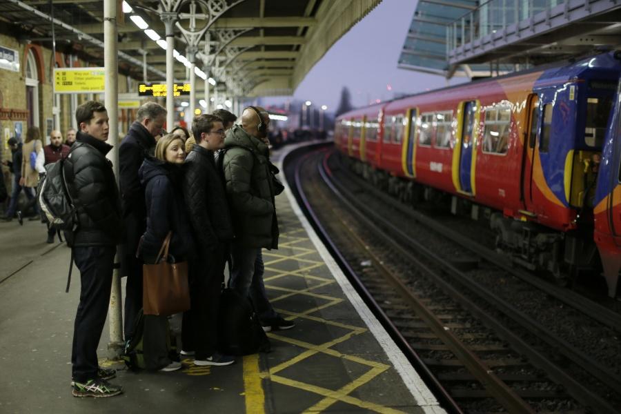 BRITAIN-LONDON-RAILWAY-STRIKE by .