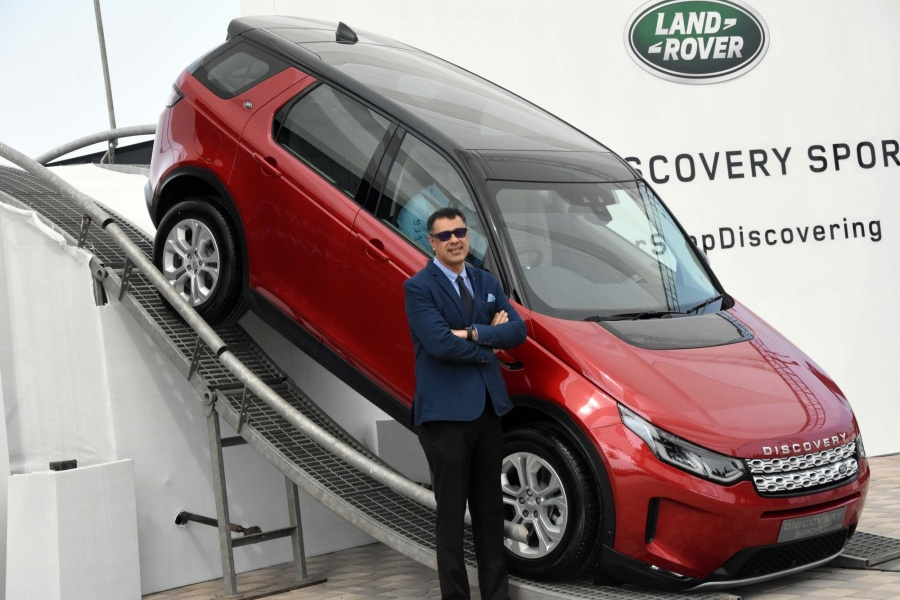 Mumbai: President and Managing Director, Rohit Suri, Jagur Land Rover India launched the new Land Rover Discovery Sport at Mumbai Port Trust in Mumbai on Feb 13, 2020. (Photo: IANS) by .