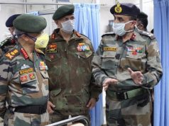 General MM Naravane, Chief of Army Staff (COAS) is on a two day visit to Kashmir to review the prevailing security situation. The COAS accompanied by the Northern Army Commander, Lt Gen YK Joshi and Chinar Corps Commander, Lt Gen BS Raju visited the formations and units in the hinterland today. by .