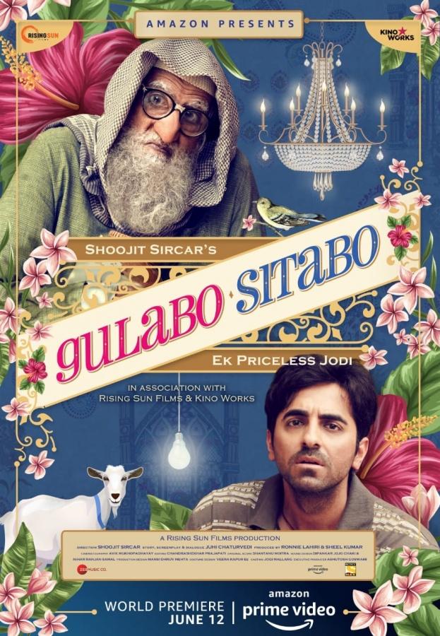 Big B, Ayushmann confirm 'Gulabo Sitabo' will release on OTT. by .