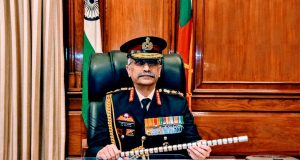New Delhi: General Manoj Mukund Naravane takes over as the Chief of Indian Army, in New Delhi on Dec 31, 2019. (Photo: IANS/DPRO) by .