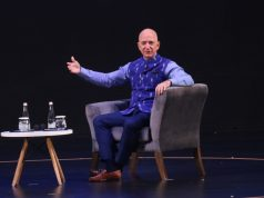 New Delhi: Amazon CEO Jeff Bezos interacts with entrepreneurs at the Amazon Smbhav event in New Delhi on Jan 15, 2020. (Photo: IANS) by .
