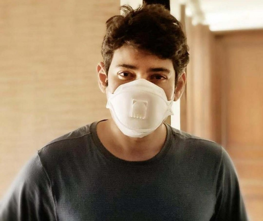 Mahesh Babu: It's cool to be masked. by .