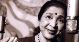 When Asha Bhosle recorded song on a phone. by .