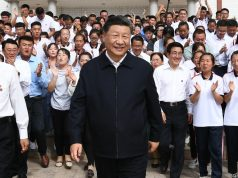 ZHANGYE, Aug. 21, 2019 (Xinhua) -- Chinese President Xi Jinping, also general secretary of the Communist Party of China Central Committee and chairman of the Central Military Commission, makes an inspection tour to the Bailie school in Shandan County of Zhangye, northwest China's Gansu Province, Aug. 20, 2019. (Xinhua/Xie Huanchi/IANS)n On Aug. 8, the UN Support Mission in Libya (UNSMIL) called for a humanitarian truce on the occasion of the holly Eid al-Adha, on which both parties agreed. (Photo by Amru Salahuddien/Xinhua/IANS) by .