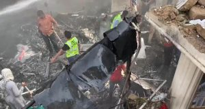 PIA Plane Crashed in Karachi. by .