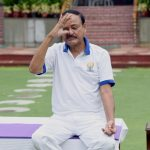 New Delhi: Vice President M Venkaiah Naidu practices yoga asanas - postures - on the occasion of 6th International Yoga Day in New Delhi on June 21, 2020. (Photo: IANS/PIB) by .