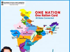 One nation one ration card. by .