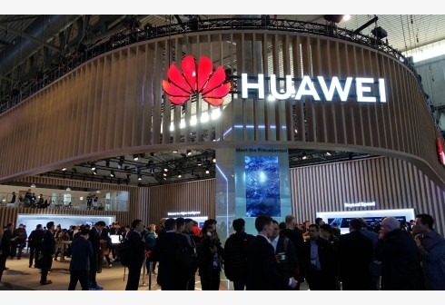Huawei (File Photo) by .
