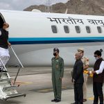Rajnath in Ladakh, to review forces preparedness on ground. by .