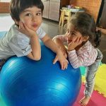 Inaaya and Taimur. by .