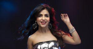 Shibani Kashyap's new tune: 'Corona ko hai harana'. by .