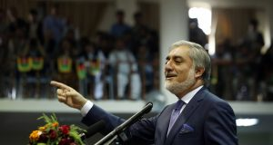 AFGHANISTAN-KABUL-NATIONAL UNITY GOVERNMENT by .
